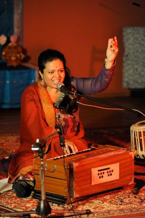 Anandita Basu singing